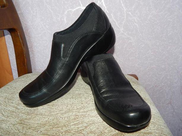 Продам туфли демисезонные, кожаные