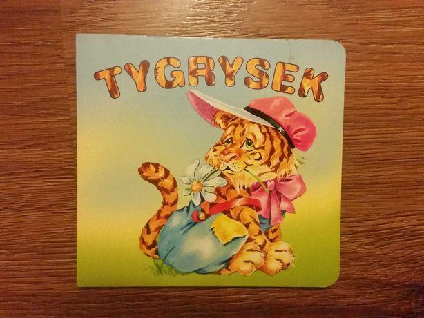 Tygrysek książka dla dzieci seria Biblioteczka niedźwiadka