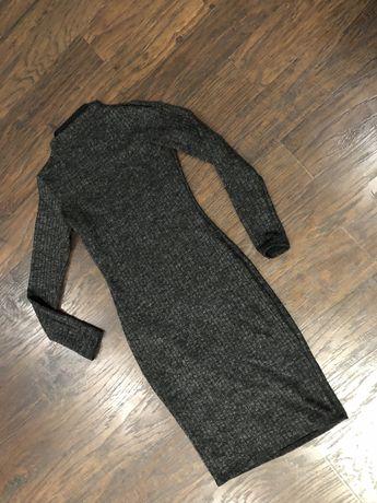 Продам платье, серое в идеальном состоянии !