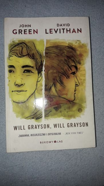 ",,Will Grayson, Will Grayson"" John Green, David Levithan"