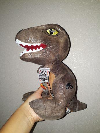 Динозавр мягкая игрушка. Новая. Динозавр Jurassic World новая игрушка