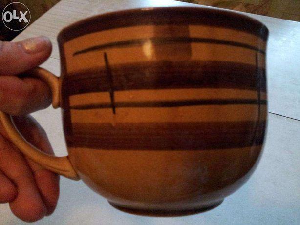 Чашка большая бульенница 12х9 см