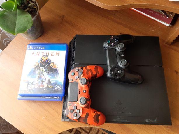 Игровая консоль, PS4  на 1 Тб. В идеальном состоянии.