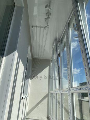Балкон под ключ Остекление Обшивка Утепление Шкафчики Крыши Ремонты