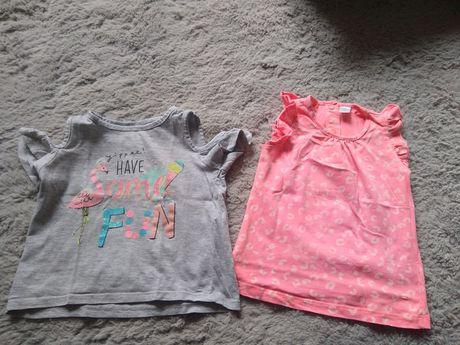 2 pak koszulka t-shirt lato 86