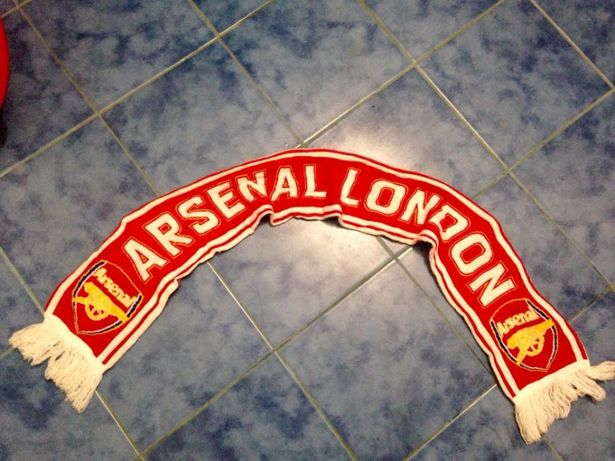 Шарф arsenal london