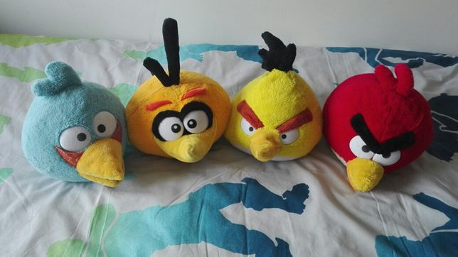 Lote Peluches angry birds