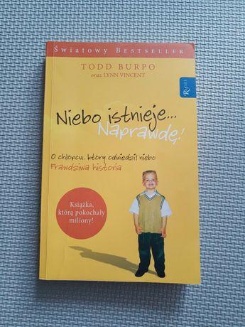 """Książka """" Niebo istnieje naprawdę"""""""
