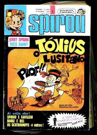 Spirou, série 2, 1979 - 32 numeros (série completa)
