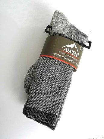 Ciepłe skarpety ASPEN 2pack grube męskie 43-46 narty zima