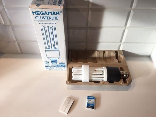 Żarówka żarówki Megaman E40 clusterlite