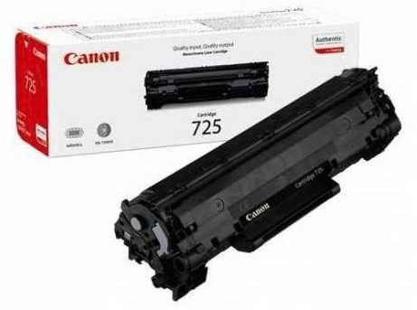 Оригінальний лазерний картридж Canon 725   В НАЯВНОСТІ
