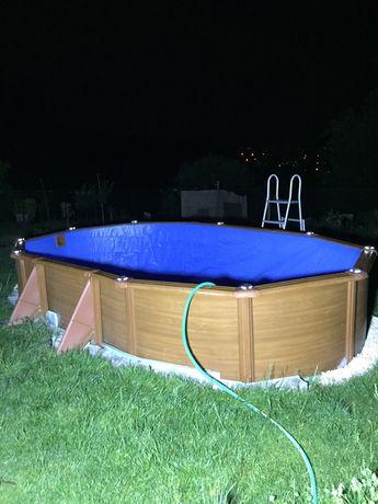 Montagem de piscinas