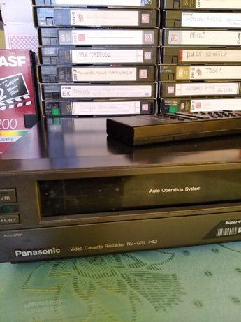Okazja - magnetowid + kasety VHS
