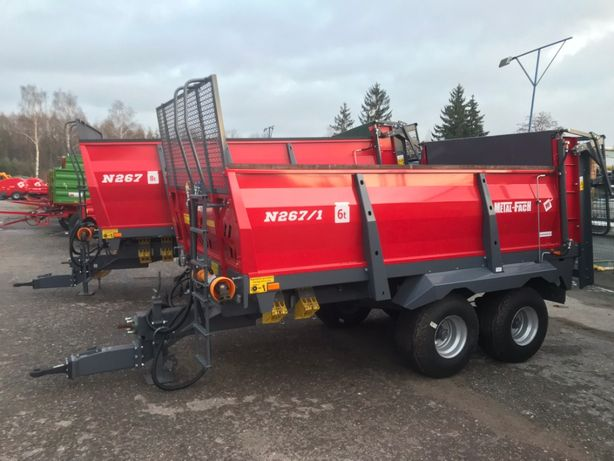 OD RĘKI Rozrzutnik Metal Fach N267 N267/1 6/8 ton 2021 Dostawa