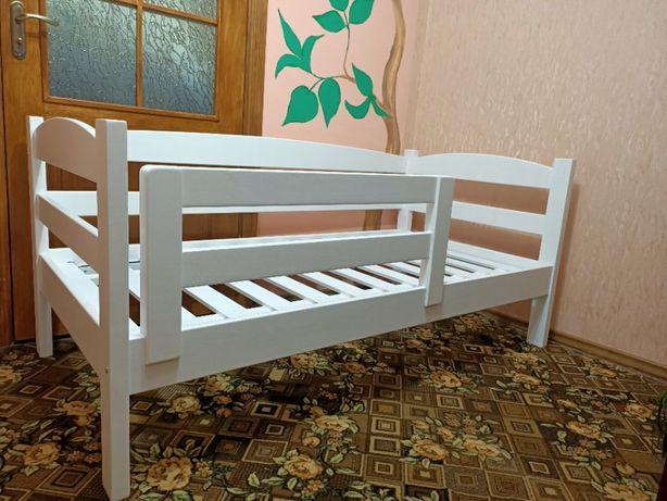 Подростковая детская кровать. 160х80. В наличии. Ручная работа. Ольха.