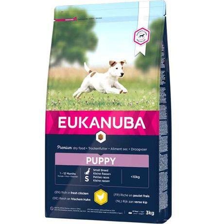Eukanuba Puppy Small Breed 3kg - cachorros raça pequena