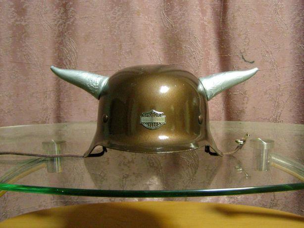 рога к байкеровскому шлему