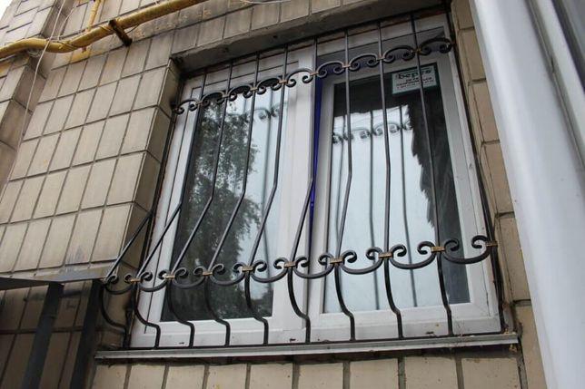 Решетки на окна, двери, балкон. Кованые и Сварные. Доставим. Установим