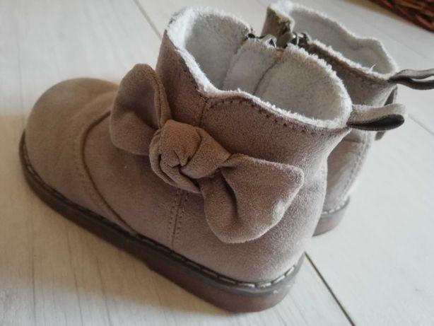 Buciki, buty jesienne, zimowe, botki H&M - r. 20-21