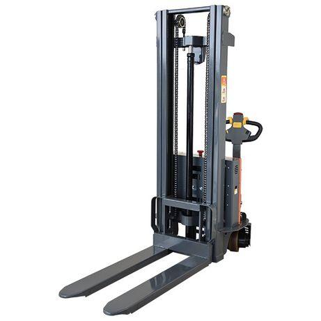 Paleciak masztowy 1000 kg 3000 mm - elektryczny