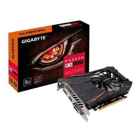 Видеокарта GIGABYTE RX550 (компьютер, hdd, ssd, процессор)
