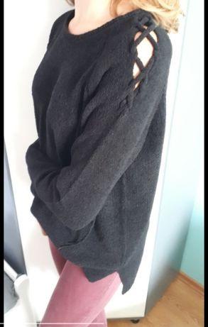 Sweterek welur rozciecia uniwers