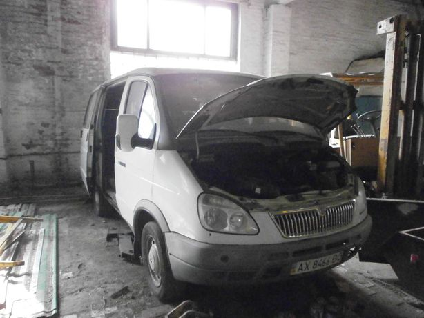Микроавтобус ГАЗ 2217-404 Соболь, 2007