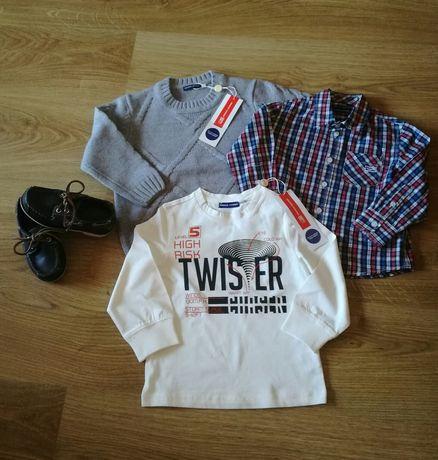 Timberland, Original Marines ubrania i buty dla chłopca 1,5/2 lata.
