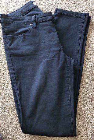 Calças Zara azuis escuras