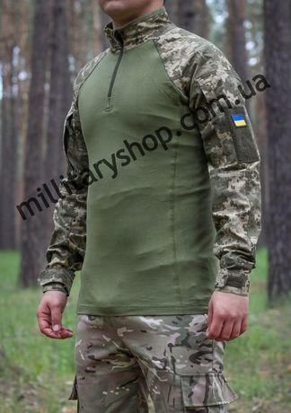 Рубашка тактическая боевая | Убакс | UBACS. ЗСУ. ДПСУ. НГУ. ММ 14