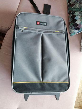 Torba podróżna z kółkami walizka średnia 52x34x18 cm - używana