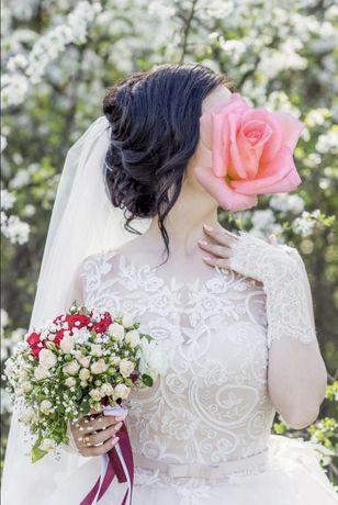 Шикарное свадебное платье дешево!
