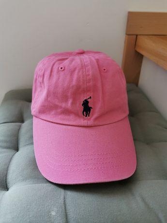 Czapka Ralph Lauren pink