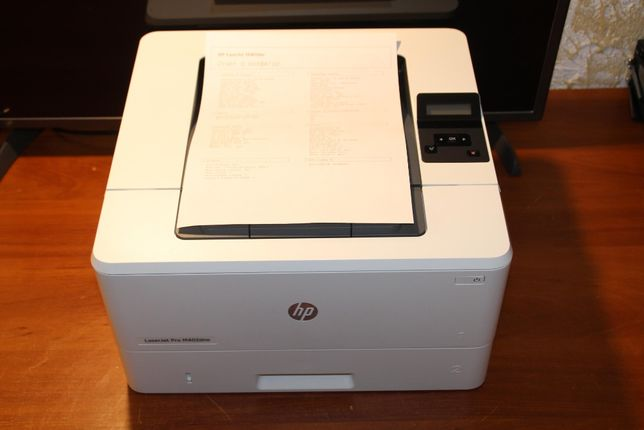 HP LaserJet Pro M402dne. дуплекс, 38ppm, USB/Ethernet. напечатал 2900