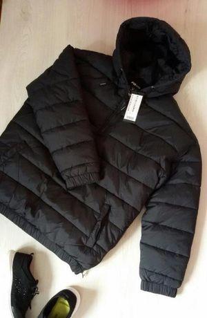 Куртка унисекс черная