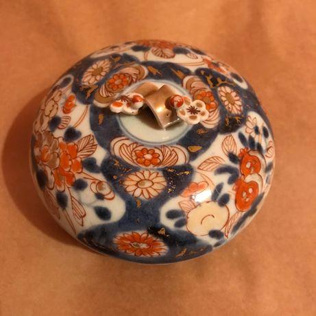 Caixa Antiga porcelana companhia das índias Imari