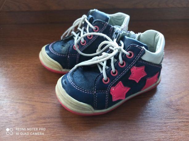 Półbuty, buciki dla dziewczynki rozmiar 21