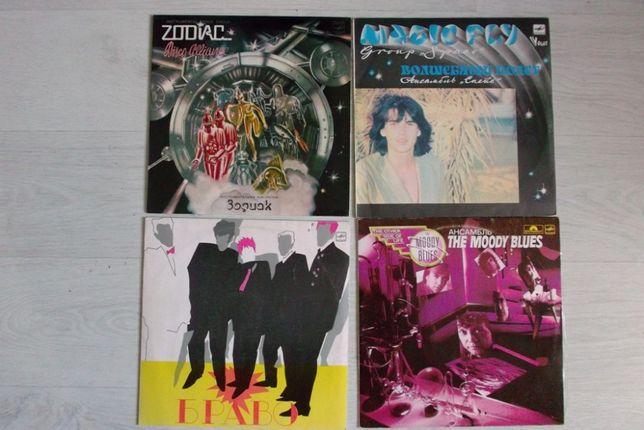 Виниловые пласинки , винил-рок,джаз,поп (Мелодия)