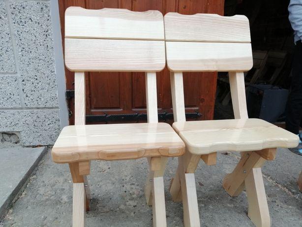 Drewniane krzesła. Na zamówienie.