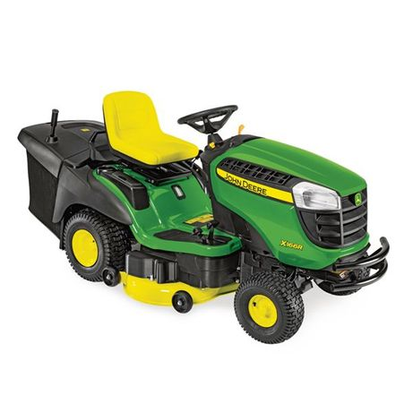 Kosiarka samojezdna- traktorek ogrodowy John Deere x 166 R