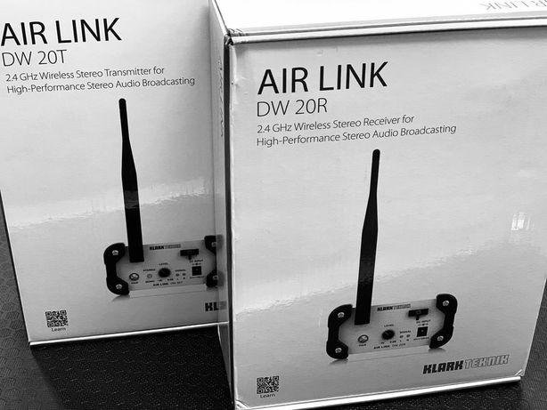 Klark Teknik Air Link Stereofoniczny Odbiornik Bezprzewodowy