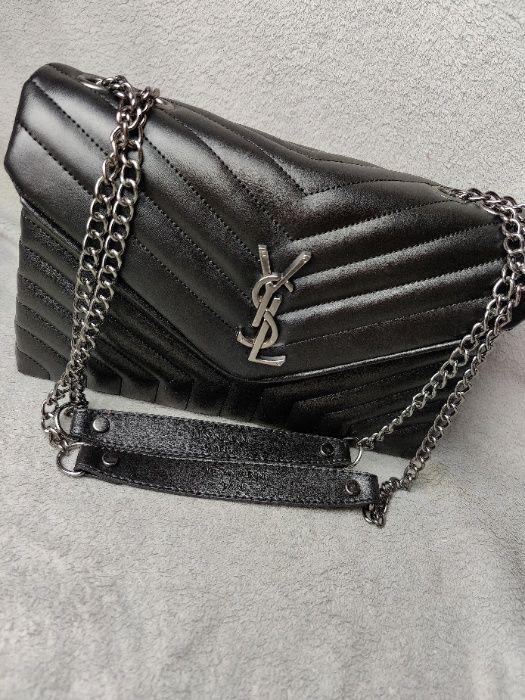 Torebka listonoska Yves Saint Laurent Torba Czarna Premium Zakopane - image 1