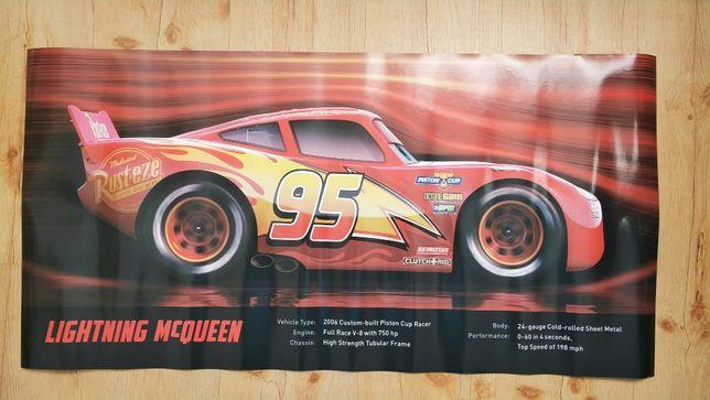 Plakat Auta dekoracja wysokiej jakości 45x90cm Zygzag McQueen