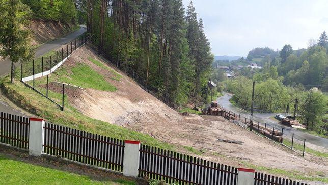 działka budowlana w Gorcach Ochotnica Dolna Młynne