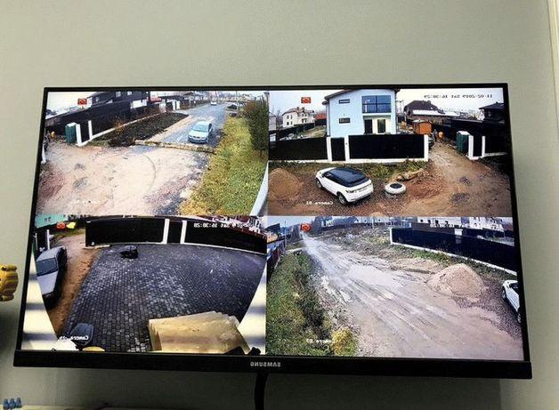 Установка камер видеонаблюдения (камера,гараж,офис,дача,дом,завод,сто)
