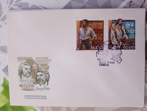 Selos com envelope