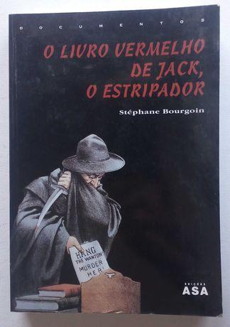 o livro vermelho de jack o estripador / stéphane bourgoin
