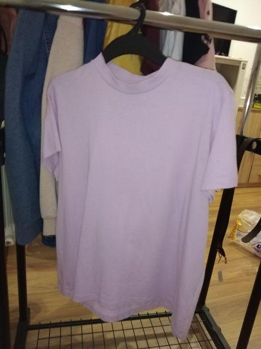 Fioletowa koszulka z Hausa za 40 zł Łuków - image 1