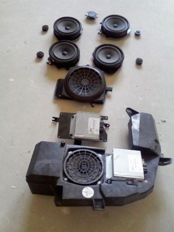 Audi A4 B6 B7 głośniki, wzmacniacz, subwoofer